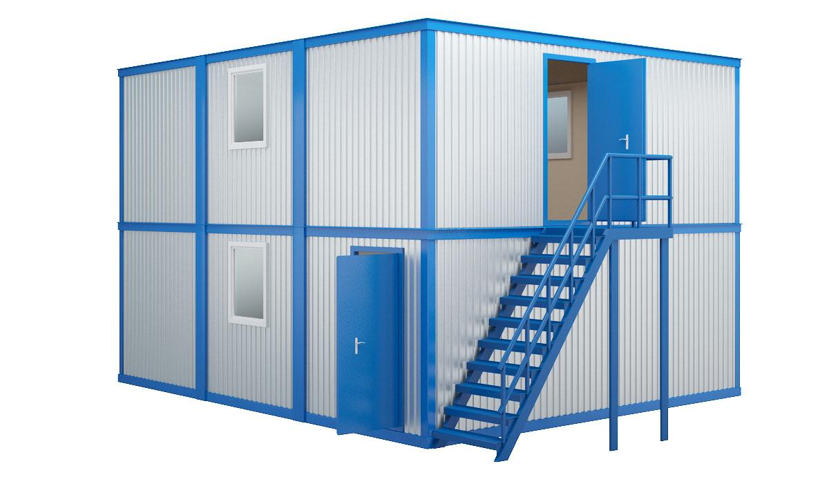 Модульные здания из сборно-разборных блок контейнеров