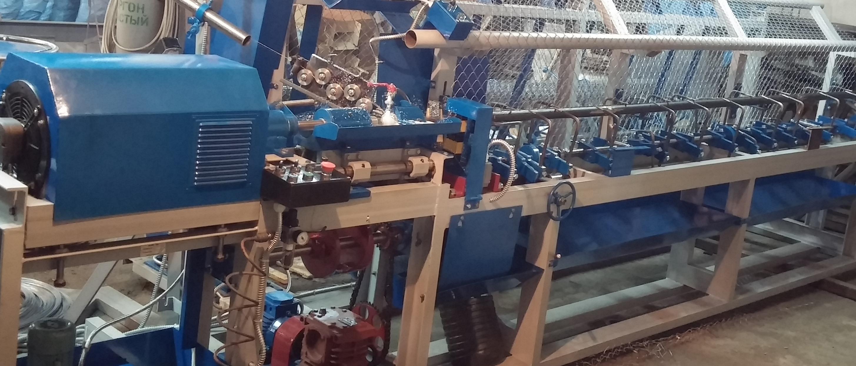 Автоматические линии по производству сетки